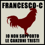 cover Io non sopporto le canzoni tristi_Francesco-C